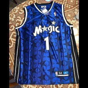 Orlando Magic Tracy McGrady basketball jersey.